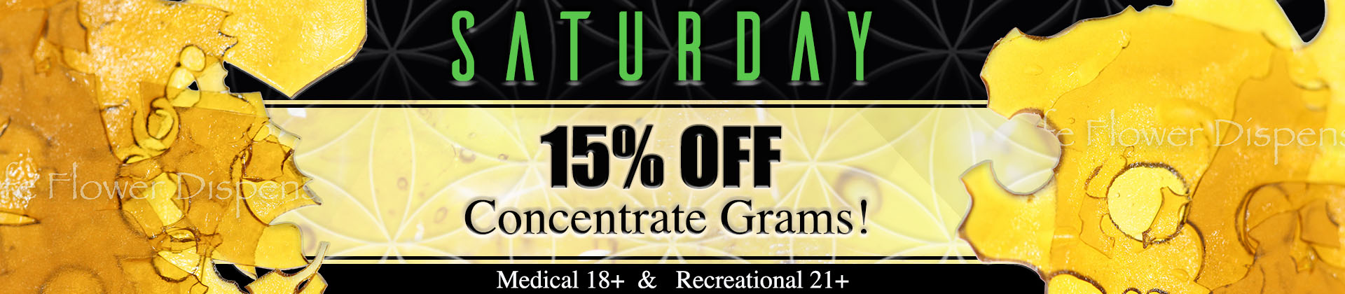 Denver dispensary open late features daily specials and discount on med and rec marijuana