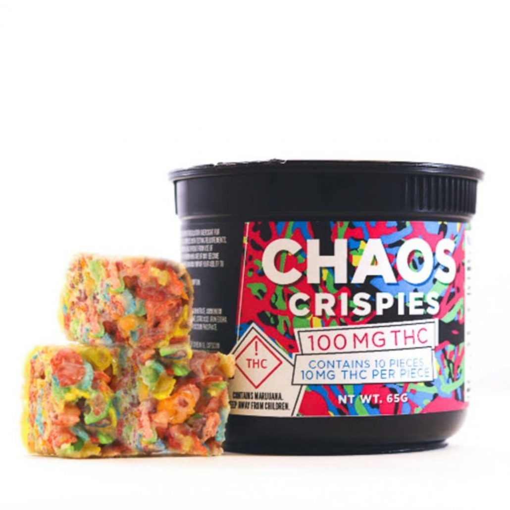 Chaos crispies at denver dispensary open late